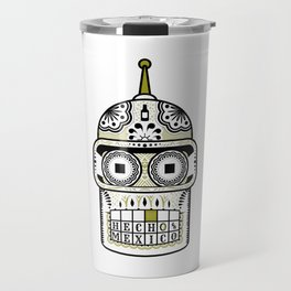 Sugar Bot Skull Travel Mug