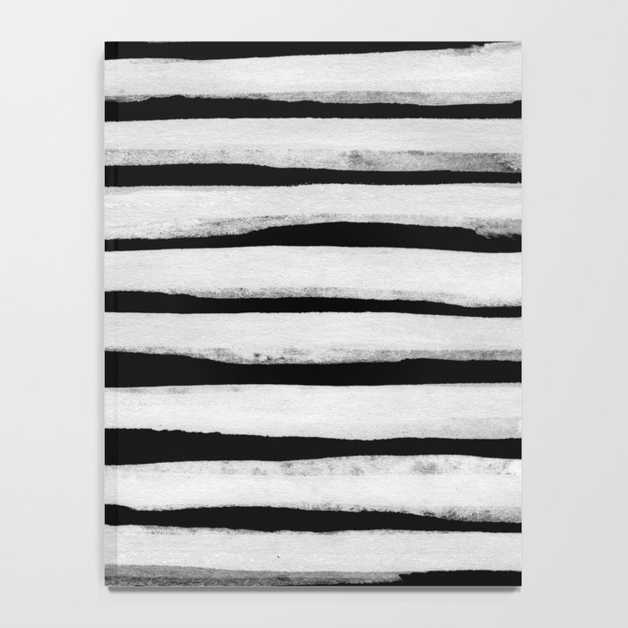 Black and White Stripes II Notebook