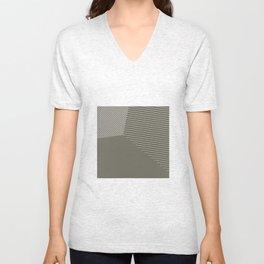Business as Usual - Voronoi Stripes Unisex V-Neck