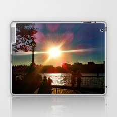 Sunset on the Bank Laptop & iPad Skin
