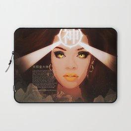 Rihanna as Japanese Deity Triptych (Amaterasu) Laptop Sleeve