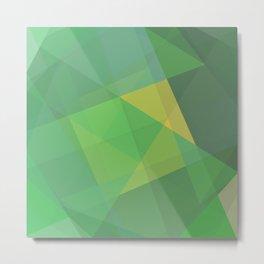 Polygon print bright colors #society6 #decor #buyart #artprint Metal Print