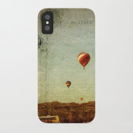 Textured Balloons iPhone Case