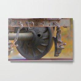 Keep On track ... Metal Print
