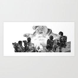 Stay Puft Art Print
