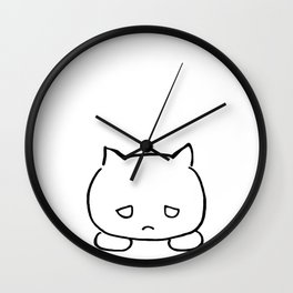 Emocat Wall Clock