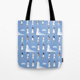 Duchess Meghan Markle Royal Milestone Illustration Tote Bag