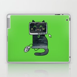 Programmer cat  makes a website Laptop & iPad Skin