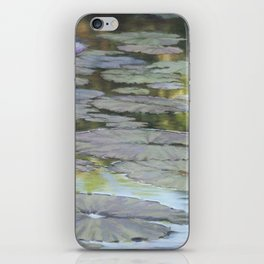 Water Lilies Afloat iPhone Skin