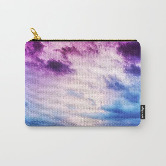 Cloudy shores Carry-All Pouch
