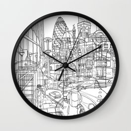 London! Wall Clock
