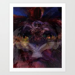 Lion Of Juda Art Print