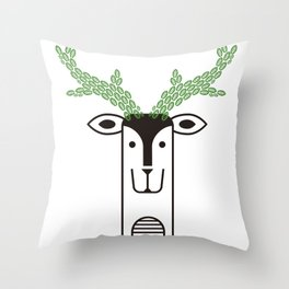 "Deardeer ""Tree"" Throw Pillow"