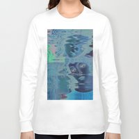 renaissance Long Sleeve T-shirts featuring The Renaissance Glitch by Norms
