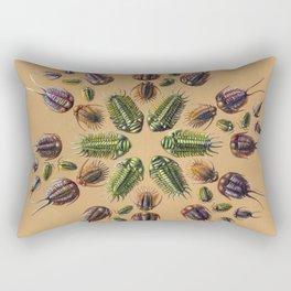 Trilobite Mandala Rectangular Pillow