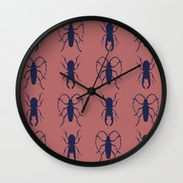 Beetle Grid V4 Wall Clock