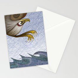 Eagle, they say Stationery Cards