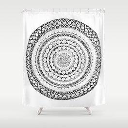 Mandala-lala Shower Curtain