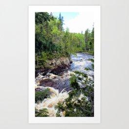The Brule River Art Print