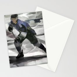 Let's Go! - Ice Hockey Player Stationery Cards