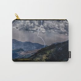 Lighting Is Alone Carry-All Pouch