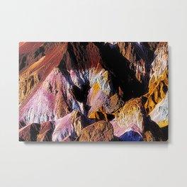 Artist Palette in California's Death Valley National Park. Metal Print