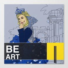 BE  ART Canvas Print