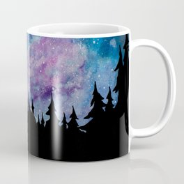 Galaxies and Trees Coffee Mug