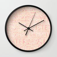 sister Wall Clocks featuring Sister by CatDesignz