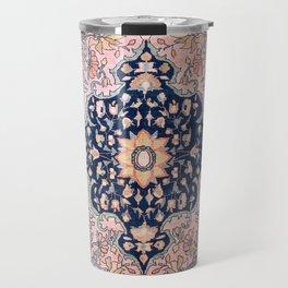 Sarouk  Antique West Persian Rug Print Travel Mug