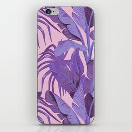 Tropical '17 - Starling [Banana Leaves] iPhone Skin