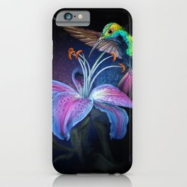 The Stargazer and The Hummingbird iPhone Case