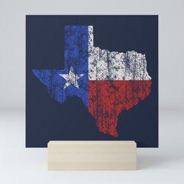 Texas Vintage Mini Art Print