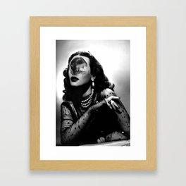 The memory Framed Art Print