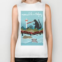 the neighbourhood Biker Tanks featuring YYCFlood by KeliGirl