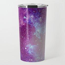 Pink Galaxy Painting Travel Mug