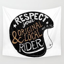 Respect Wall Tapestry