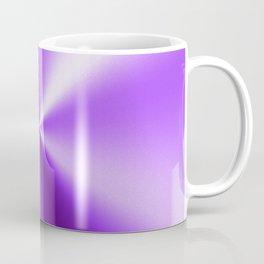 Metallic Purple Stainless Steel Print Coffee Mug
