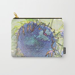 Expressionism Sunflower Carry-All Pouch