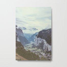 Lauterbrunnen Switzerland Metal Print