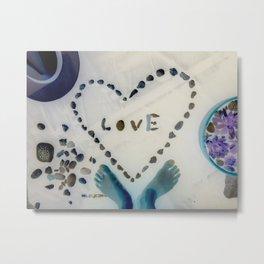 Stoned of love <3 Metal Print