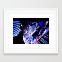 vertigo Framed Art Prints featuring Vertigo by Danielle Tanimura
