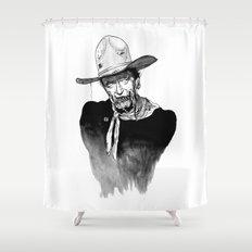 Zombie Wayne. Shower Curtain