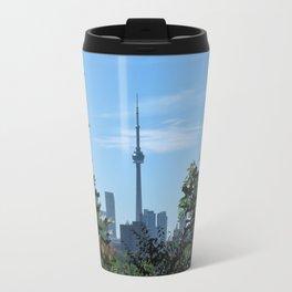CN Tower from Casa Loma Travel Mug