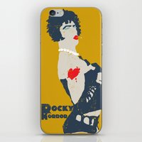 rocky horror iPhone & iPod Skins featuring Rocky Horror by Alec Goss