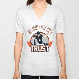 """The Victrs """"In Cutty We Trust"""" Unisex V-Neck"""