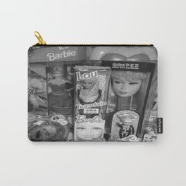 #BarbieLou with tomodachi b/w Carry-All Pouch