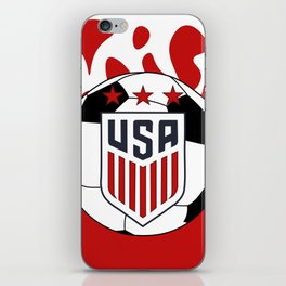 United States Soccer iPhone Skin