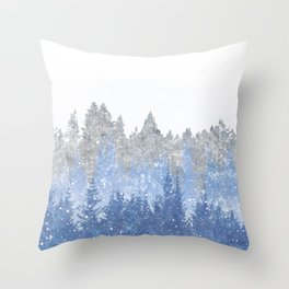 Study in Solitude Throw Pillow