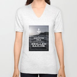 Skilled Sailor Unisex V-Neck